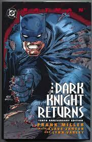 batman the dark knight returns complete story spoilers comics