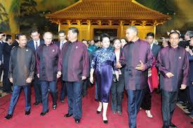 sultan hassanal bolkiah wives photos apec fashion through the years wsj