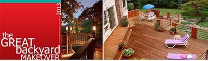 Backyard Makeover Sweepstakes by Garden Design Garden Design With Small Backyard Design Ideas On A