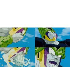 Cell Meme - plantilla cell vomitando ponganse plantillas para memes