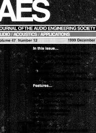 aes e library complete journal volume 47 issue 12