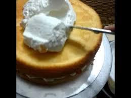Kek Mango vanilla mango yougurt cake kek vanilla yogurt krim