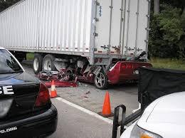 corvette car crash is this corvette crash photo a result of texting while driving