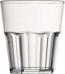 bicchieri vetro bicchiere plastica 12 cl san garnet conf 6 pezzi gma