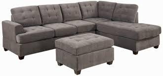 Contemporary Microfiber Sofa Microfiber Couch