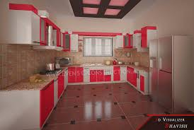 evens construction pvt ltd modern kitchen interior for beautiful