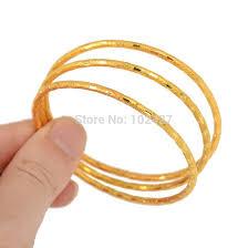 childrens gold jewelry new 3 4 6pcs 1 set simple design bangle fashion jewelry children