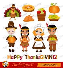 thanksgiving pilgrim digital clipart happy thanksgiving by