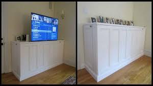 Build Outdoor Tv Cabinet Diy Flat Screen Tv Cabinet Roselawnlutheran
