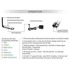 amazon com donner 8pcs dmx512 dmx dfi 2 4g wireless 7 receiver