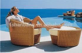 luxury white wicker gazebo canopy outdoor patio furniture bed set