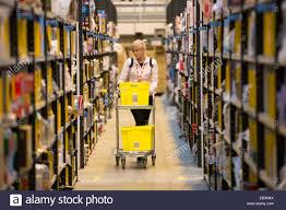 amazon for black friday staff at the amazon fulfilment centre in peterborough cambs on