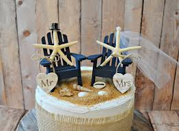themed wedding cake toppers navy blue nautical themed wedding cake topper adirondack