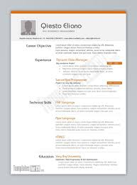 Best Resume Template In English by Resume Template Free Outline Best Examples For Your Job Search