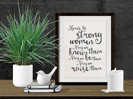 printable art business instant download art printable art here s to strong women