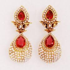 images of earrings in gold gold plated earrings gold more exporter in mumbai id
