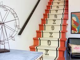 Unique Stairs Design Entry Hall Mudroom Unique Staircase Design Ideas With Orange
