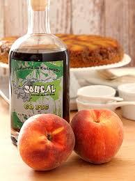 fresh peach and bourbon upside down cake creative culinary