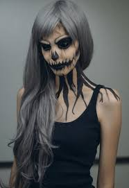 20 of the creepiest halloween makeup ideas