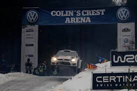 subaru rally jump video ogier breaks jump record at rally sweden