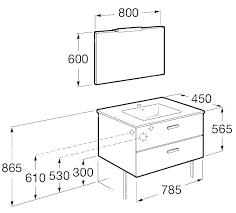 hauteur d une cuisine hauteur d un meuble vasque hauteur d d cuisine hauteur standard