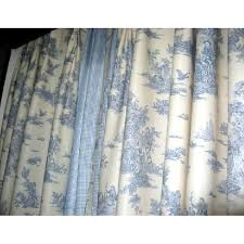 unique window curtains light blue scene and character unique window curtains