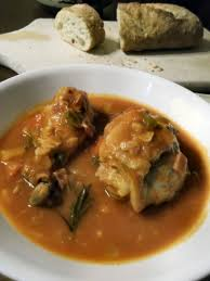 cuisine aragon pollo al chilindrón aragon chicken stew with bell peppers