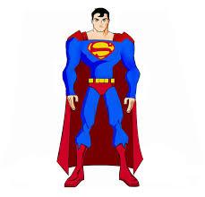 superman drawn