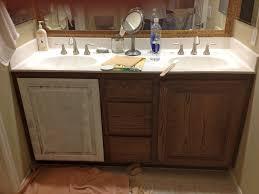 Oak Bathroom Vanity Unit 42
