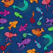 imagenes extraordinarias del mar criaturas extraordinarias inconsútiles del mar ilustración del
