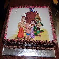 2 kg chota bheem photo cake delivery in mumbai navi mumbai delhi