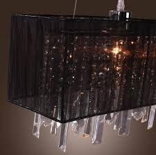 Rectangle Chandeliers Chandeliers Design Marvelous Black Pastoral Drawing