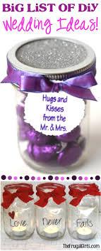 wedding favor ideas diy big list of diy wedding favors the frugal