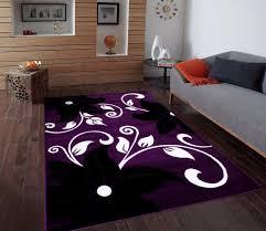 Black Rugs Area Rugs Extraordinary Purple And White Area Rugs Mesmerizing