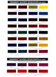 chart sem interior paint color chart