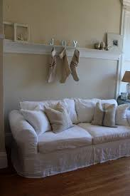 Apartment Sized Sofas by Slipcovered Sofas In Shabby Chic Eanf With White Slipcovered Sofa