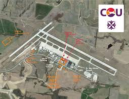 Mci Airport Map Columbia Regional Airport Terminal Area Master Plan