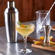 french 75 garnish collins cocktail shaker