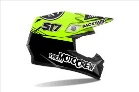 custom motocross helmet wraps helmet wraps backyard design