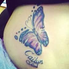 butterfly tattoo with baby footprint images of footprint tattoo favorite baby tattoo tattooing for a