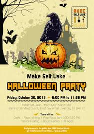salt lake city halloween parties entry 10 by victorfoong for design a halloween party flyer