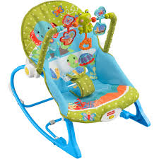 Rocking Chair Seat Replacement Fisher Price Infant To Toddler Rocker Elephant Friends Walmart Com