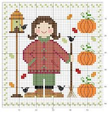 51 best fall thanksgiving cross stitch images on cross