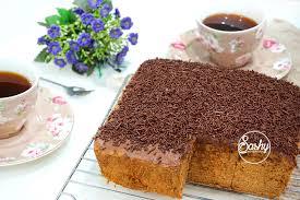 cara membuat kue bolu jadul bolu moka jadul sashy little kitchen home cooking and food traveller
