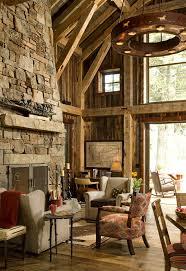 Maison En Bois Interieur Chalet En Bois à L U0027âme Très Rustique Vivons Maison