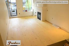 Tongue Side Of Laminate Flooring Pine Flooring Products Peerless Forest Products