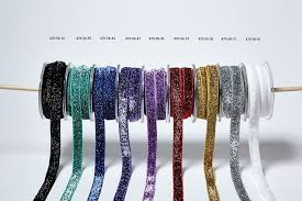 elastic ribbon wholesale 5 8 inch glitter elastic may arts wholesale ribbon