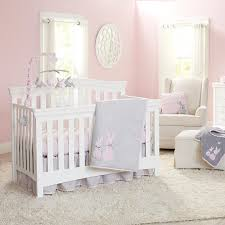 Gray And Pink Crib Bedding Koala Baby Sweet Bunny 4 Crib Bedding Set Gray Pink