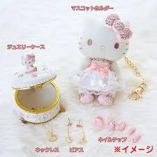 hello kitty swarovski elements jewelry case box sanrio japan