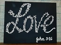painted wooden wall hanging 3 16 bible